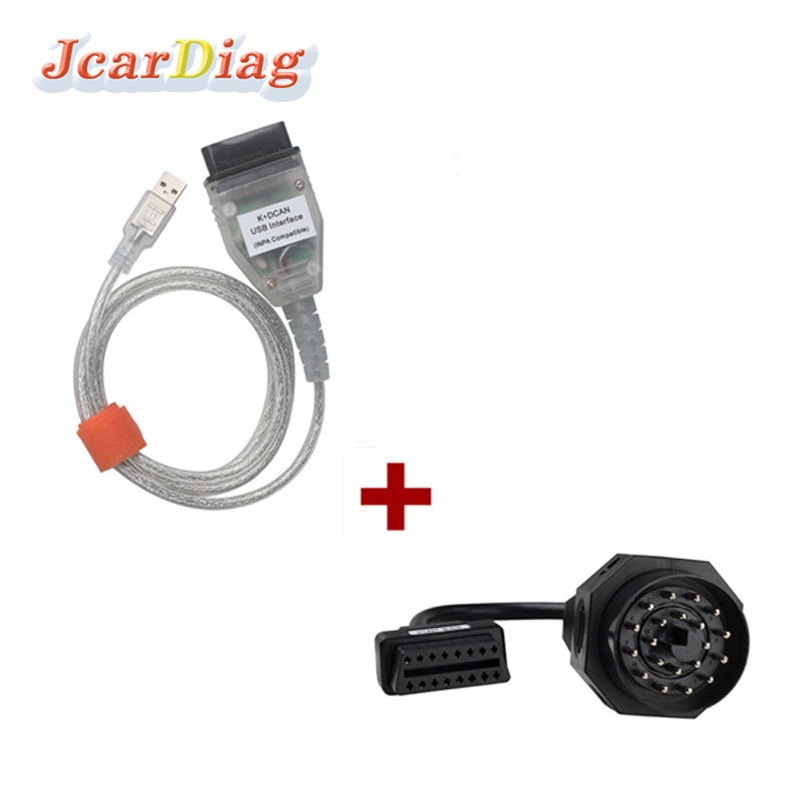 Free Shipping for BMW INPA K can inpa k dcan USB OBD2 Interface INPA Ediabas for BMW with 20pin Connector(China (Mainland))