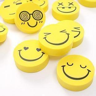 Cartoon eraser  big smiley Big Cartoon Smile