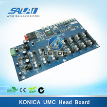 Buy konica 512 head solvent printer KM movCtrl Board-8H ver1.2d printer motherboard for $526.30 in AliExpress store
