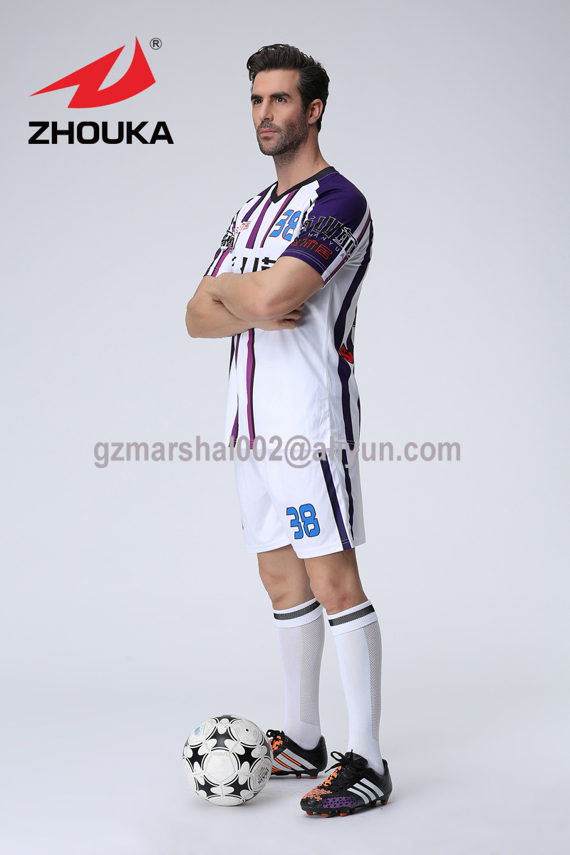 Free Shipping custom USA Soccer Jersey Top Thailand quality 16 football suit Custom logo number andcolor(China (Mainland))