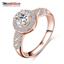 Buy LZESHINE 2017 Hot Sale Rings Christmas Gift Gold / Silver Color Clear AAA Zircon Fancy Women Jewelry Rings CRI0006 for $1.93 in AliExpress store