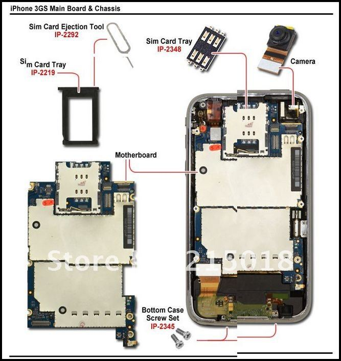 Схемы для китайских айфонов