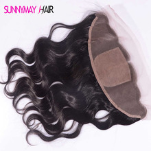 Best 8 A Grade Brazilian Virgin Hair Silk Top Lace frontal Closure Body Wave 13×4 Silk Base Frontal Closure In Stcok
