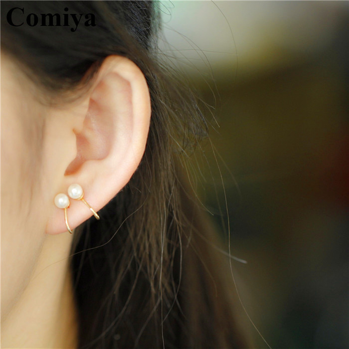2016 new boucle d 39 oreille pearl jewelry clip earrings without piercing ear cuffs pendientes. Black Bedroom Furniture Sets. Home Design Ideas