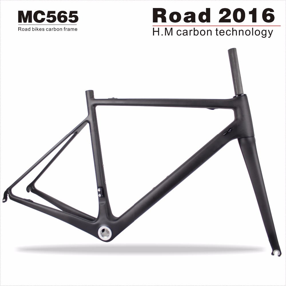 Full carbon road bike frame 2016 carbon bicycle frame 48/50/52/54/56/58/60cm available(China (Mainland))