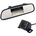 Parking Accessories 170 Wide Angle Car Rear Camera Backup Waterproof Reverse with 4 3 Inch TFT