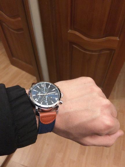 Отличные часы, покупкой доволен. Отзывчивый и вежливый продавец, рекомендую к покупке!)
