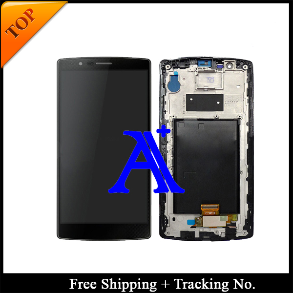 Free Shipping + Tracking No. + Tools 100% tested  For LG G4 H810 H815 F500 VS999 LCD Touch Screen Assembly - White/Grey/Gold