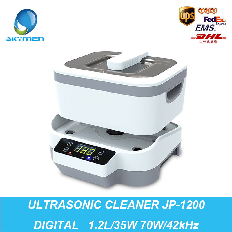 Free shipping Skymen new arrival dental ultrasonic bath with removable tank JP-1200 touch screen<br><br>Aliexpress