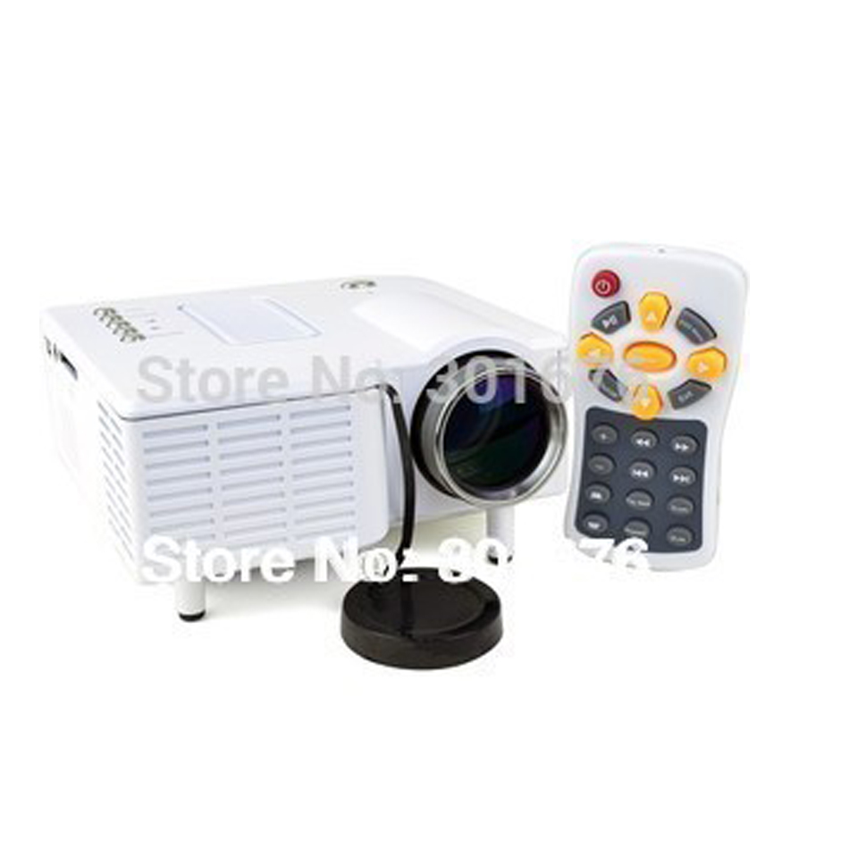 Free shipping led projector mini proyector portable for Which mini projector