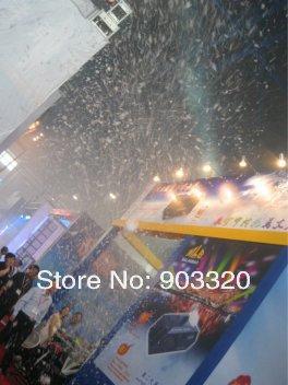 Купить Высокая Мощность 1800 Вт Этап Открытый Снег Эффект Машина, Снег Машина для Свадьбы, Открытый События