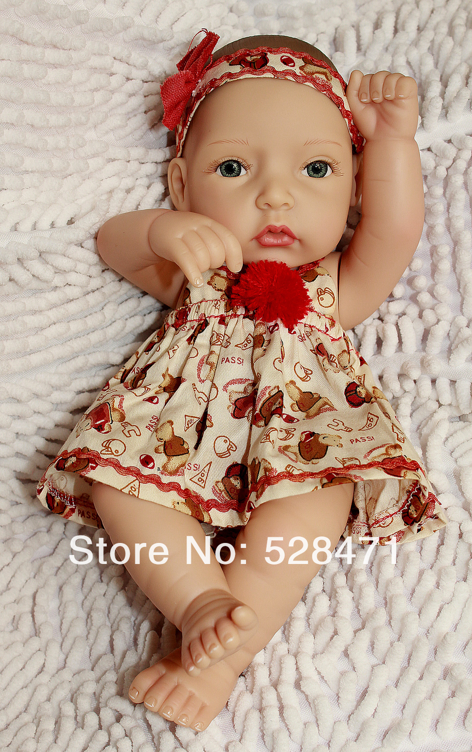 Wholesale 10 Inches Full Mini Vinly Reborn Baby Dolls For