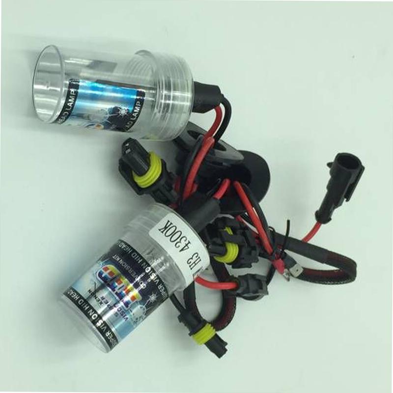H3 Xenon HID Bulb Auto Car Conversion Kit Headlight Lamp Light(China (Mainland))