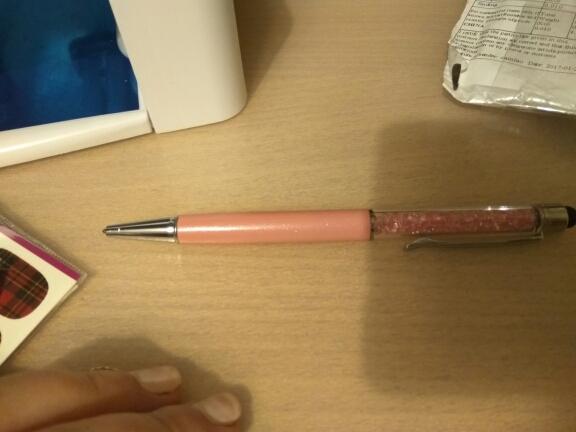 заказ шел долго (два месяца), но ручка красивая и пишет хорошо. еще буду заказывать)