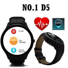 2016 Бесплатная Доставка K8 Мини Смарт Часы Похожи № 1 D5 Android 4.4 Bluetooth 3 Г Wi-Fi GPS SmartWatch iOS и Android Смартфонов