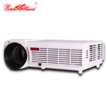 Fashion! Top 5500Lumens Home Theater Projector LED 1080P HD 3D LCD  Projectors with 2HDMI VGA 2*USB AV Best Home Protector(China (Mainland))