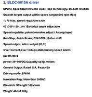 Двигатель постоянного тока Wantaimotor 2 DC 125W, 24 , 3000 /& CNC 57BLF02