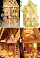 3D holz puppenhaus 21 «Пуппе holz haus 6 Циммер & Мёбель
