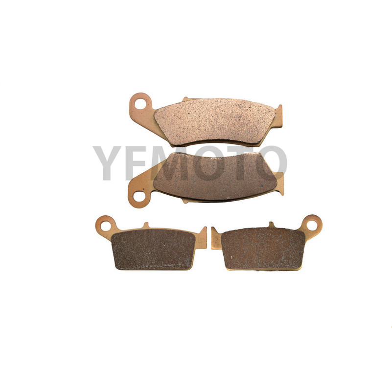 Motorcycle Parts Motor Brake Pads For Honda XR250R XR 250R 250 R XR250 R 1996-2004 97 98 99 00 01 02 03  Brake Disks
