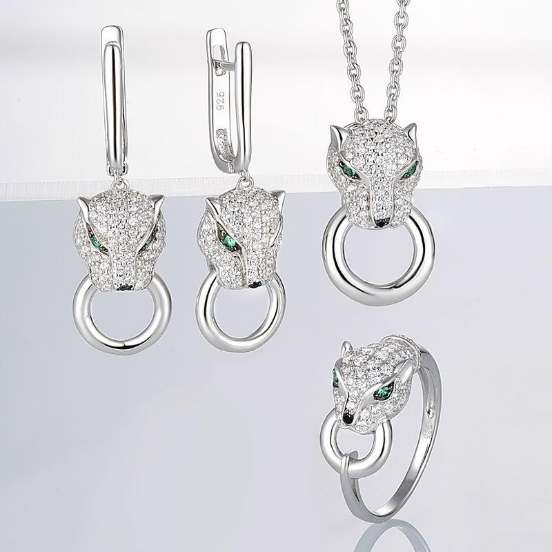 Jewelry Set-304390SBGSZSL925 - 9