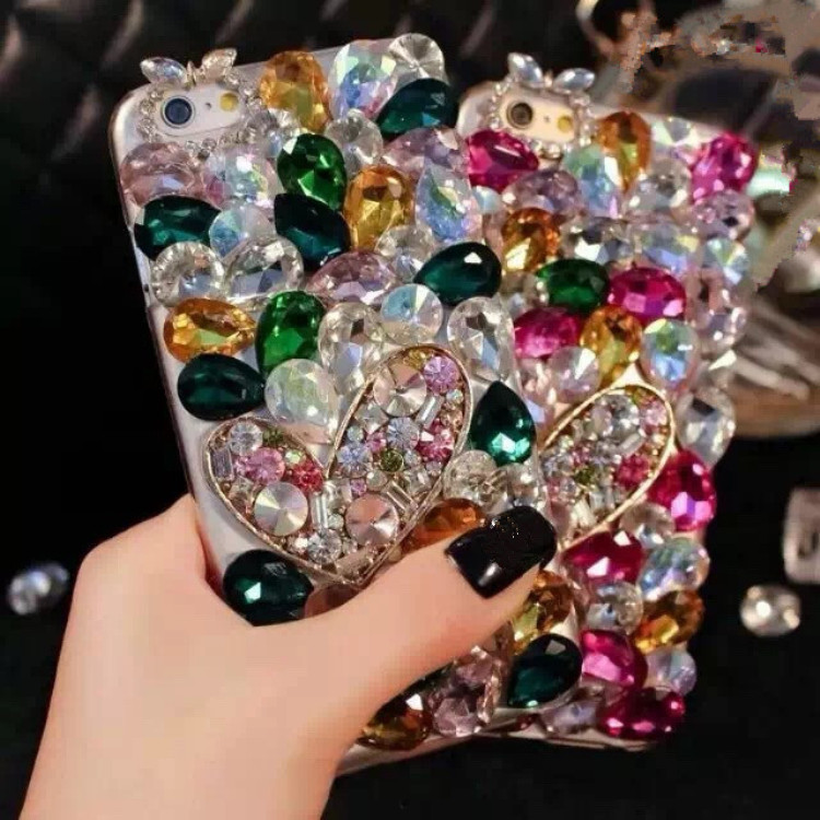 Luxury Bling Diamond Phone Case Samsung Galaxy S3 S4 S5 S6 S6 Edge S6 Edge Plus S7 S7 Edge S8 S8 Plus Glitter Cover Coque