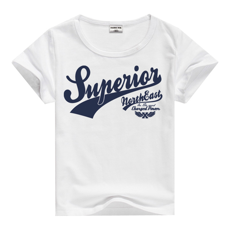 Summer cotton casual t shirts baby child fashion brand for Good t shirts brands