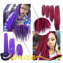 Havana Mambo Twist Crochet Braid Hair 18 Inches Synthetic Kanekalon Kinky Marley Braiding Hair Extension Jumbo Braid Hair