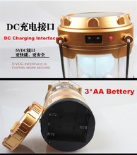 Free Shipping New Arrival Disaster Prevention Artifact 6 Led 5W Multifunctional Hiking Rechargeable Camping Lantern XL-G85Z(China (Mainland))
