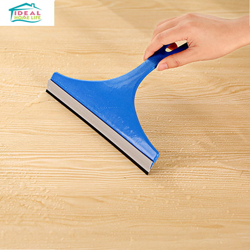 Hot Sale Car Windshield Cleaner Glass Window Handy Scraping Table Surface Rubber Wiper(China (Mainland))
