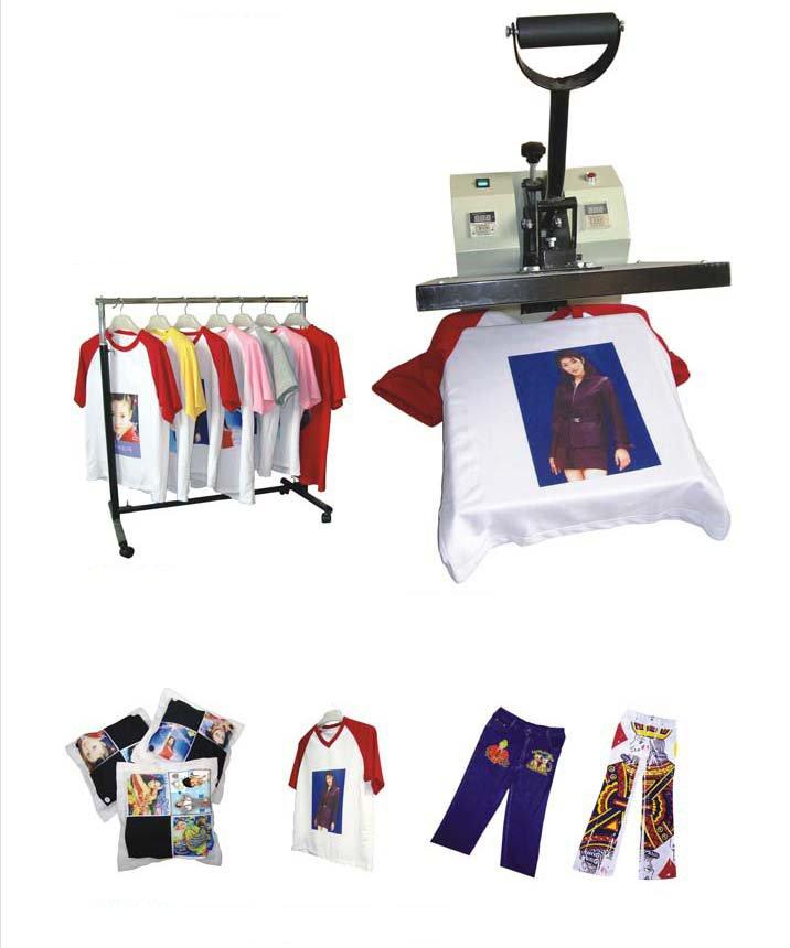 "Купить Футболка машина давления жары 38*38 СМ (15 ""* 15"") Футболка Машина Давления Жары DX-0901 printing machine for t-shirt heat transfer"