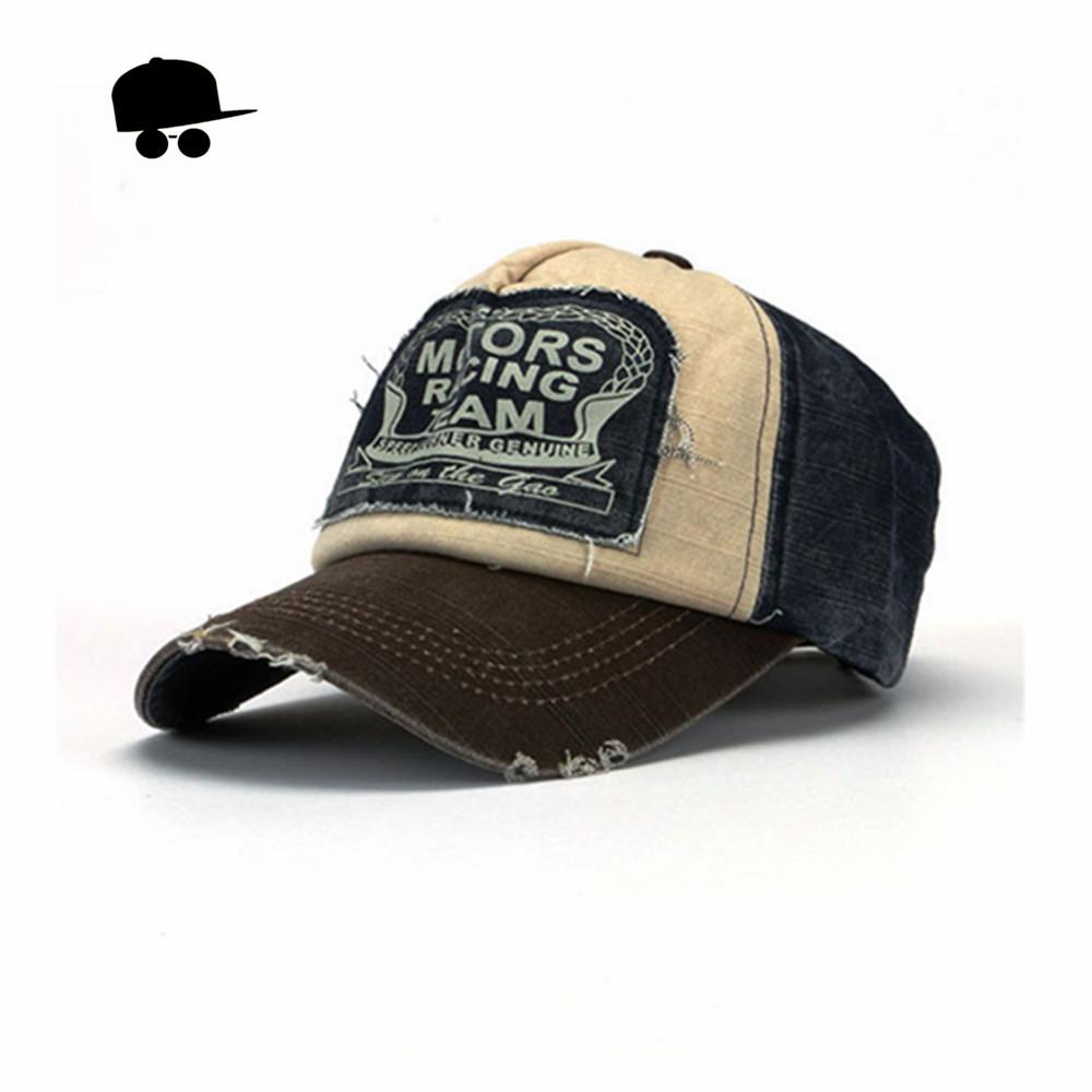 Retro Cool Distressed Wearing Baseball Cap Brand Snapback Caps Men Women Retro Snapback Hats Vintage Van Cotton Gorras CB22(China (Mainland))
