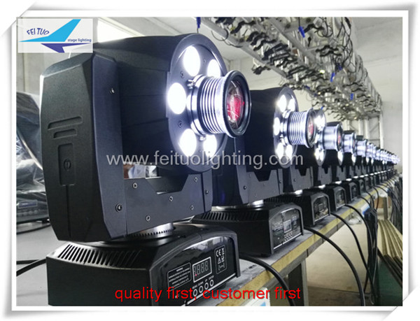 (4/lot)LED Inno Pocket Spot Mini Moving Head Light 30W DMX DJ effect stage lights 30w moving head wash led(China (Mainland))