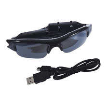 1pc High Quality DV DVR wireless Sun glasses Camera Audio Video Recorder Hot Worldwide FreeShipping(China (Mainla