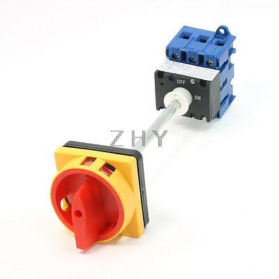 AC600V 63A On/OFF 6 Screw Terminals Rotary Changeover Switch GLD11-63A<br><br>Aliexpress