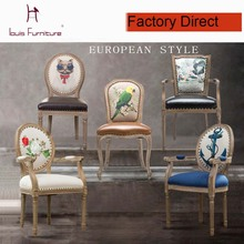 The NEW French modern leisure dining chair exquisite workmanship armchair elegant stool kitchen furniture popular  dining room(China (Mainland))
