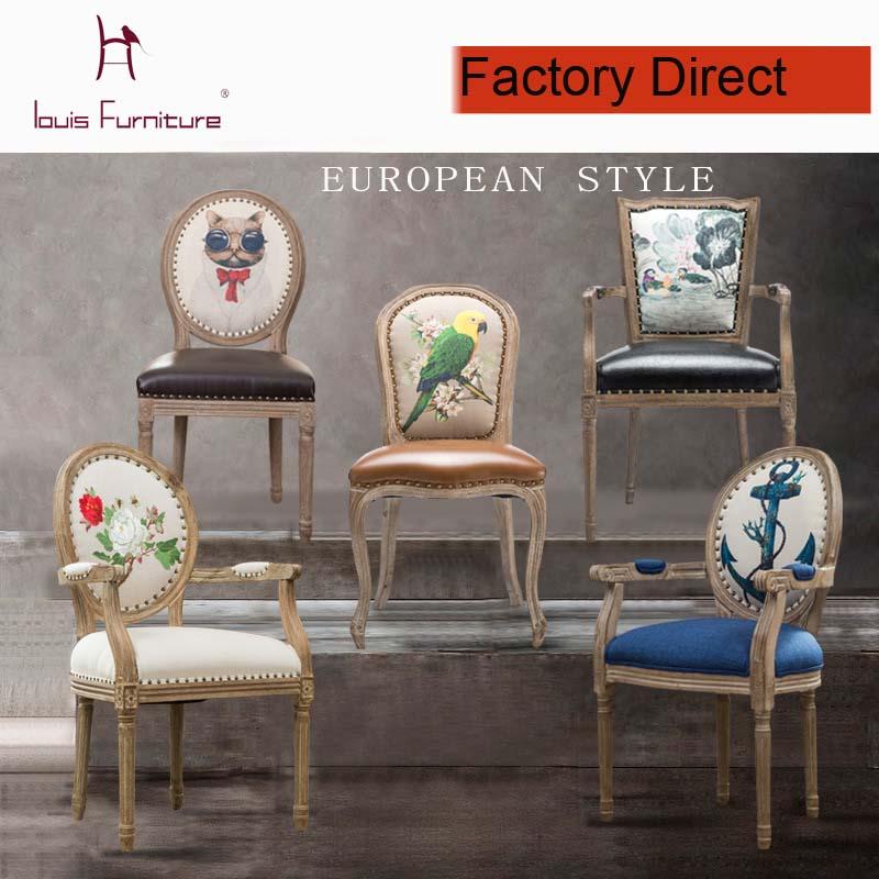 Online kopen wholesale franse fauteuil uit china franse fauteuil groothandel - Moderne eetkamerstoel eetkamer ...