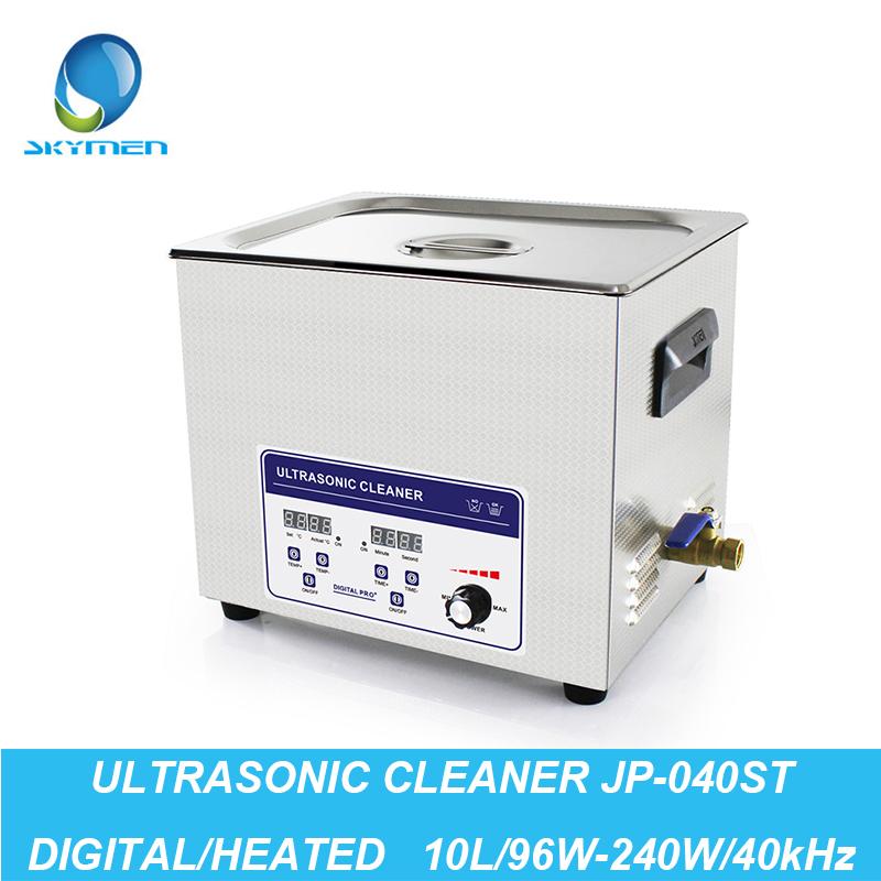 Digital Ultrasonic Washer 10L 96W-240W 40kHz Baskets Watches Dental Lavatrice Ultrasuoni Heated Industry Ultrasonic Cleaner Bath(China (Mainland))