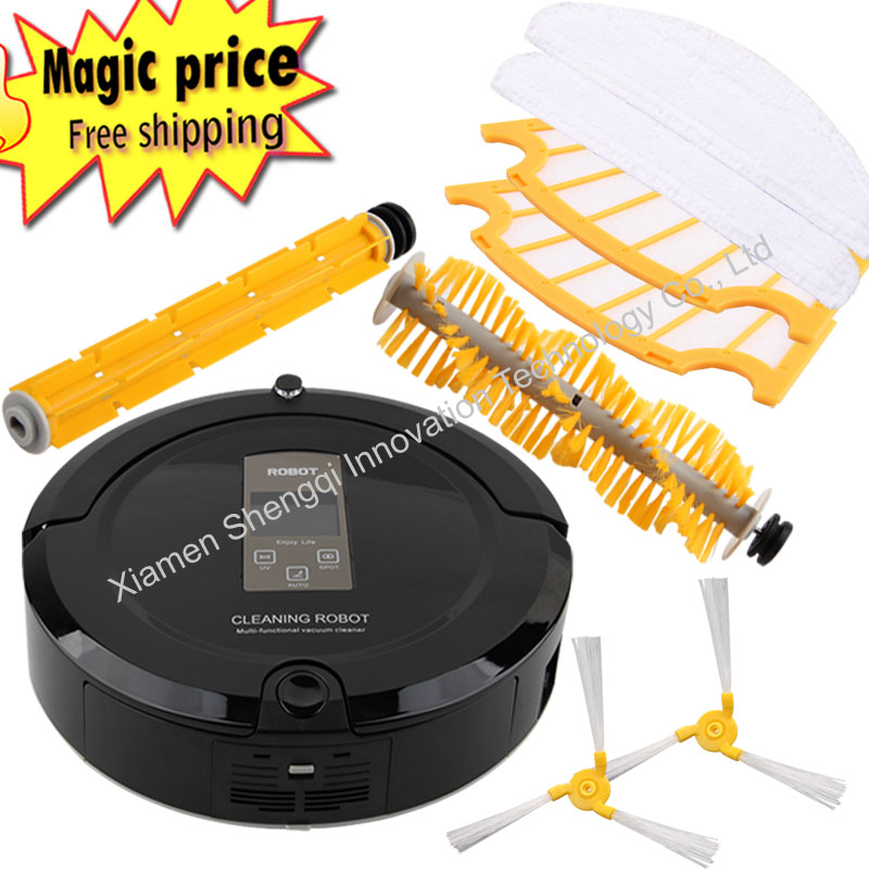 Vacuum Robotic Floor Cleaner With UV Sterilize 2 Way Sensors A325 Automatic Cleaning Devices(China (Mainland))
