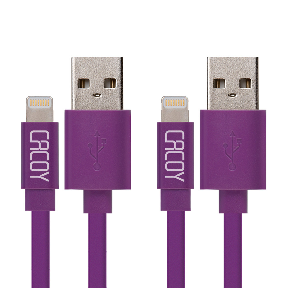 2PCS CACOY For Apple MFi Certified For iPhone 5 5C 5S 6 6s 6Plus ipad Air For Lightning pin USB Data Charger Cable Line IOS 8 9(China (Mainland))