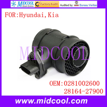 Buy New Mass Air Flow Sensor use OE No. 0281002600, 28164-27900 Hyundai Kia ) for $21.90 in AliExpress store