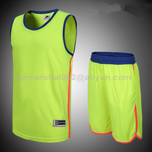 Popular design blank V-collar Basketball jersey in high quality