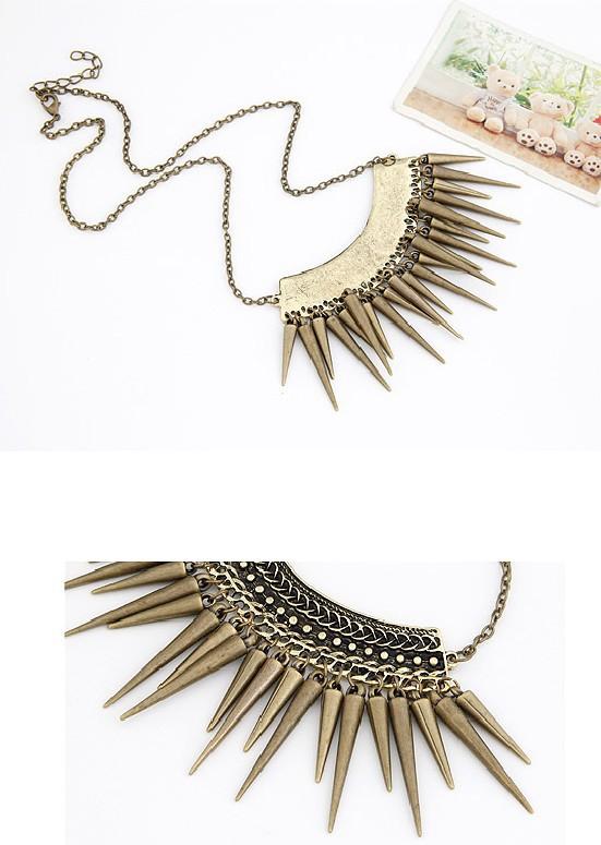 תכשיטי אופנה מוגזמים פאנק מסמרות ציצית שרשראות & תליונים הסיטוניים 2013 Min. $10(לערבב פריטים)משלוח חינם