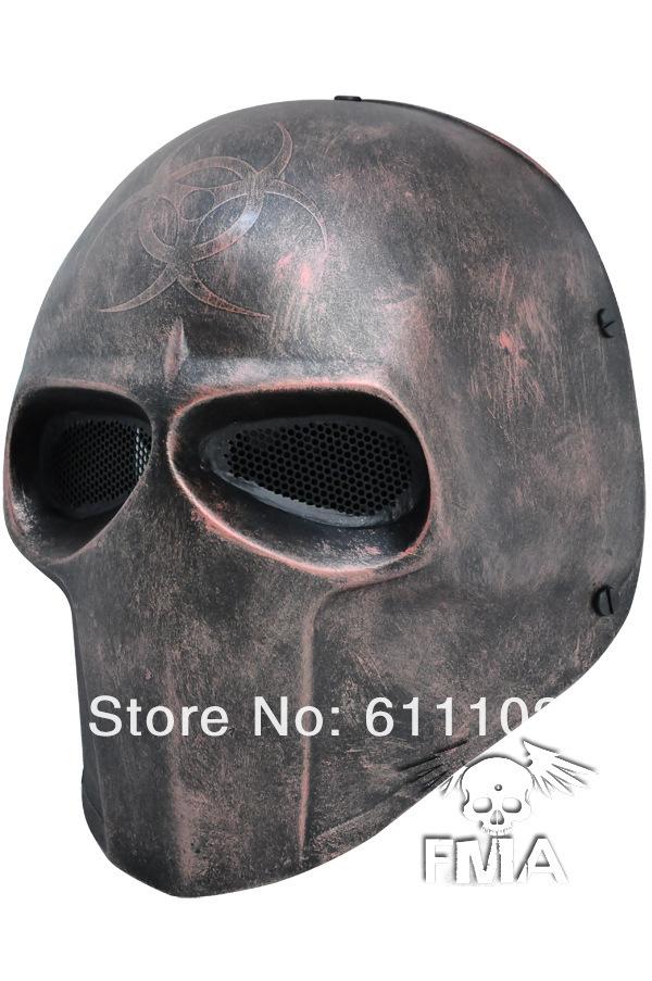 wholesale fma steel mesh mask gas mask tactical mask tb634 mask