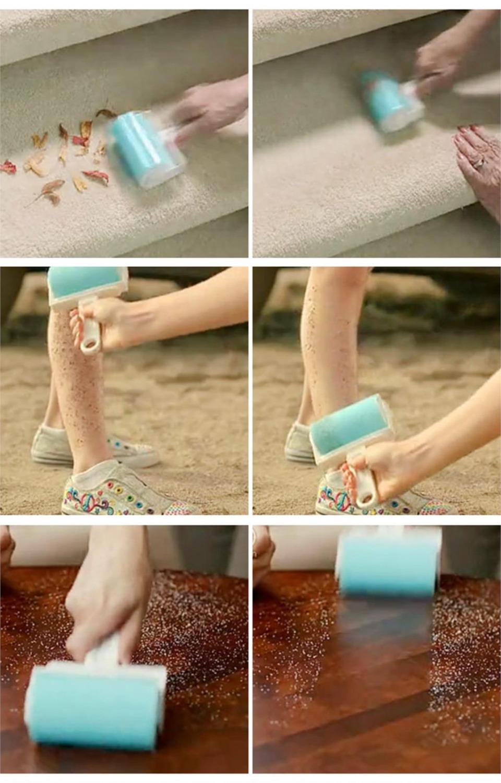 Щетка для чистки ковров от шерсти и волос
