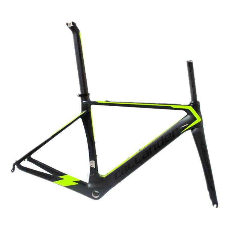 New Design CALLANDER Composite Carbon Frame Set 700C Road Bike Frame carbon fiber bicycle road bike frame on sale(China (Mainland))