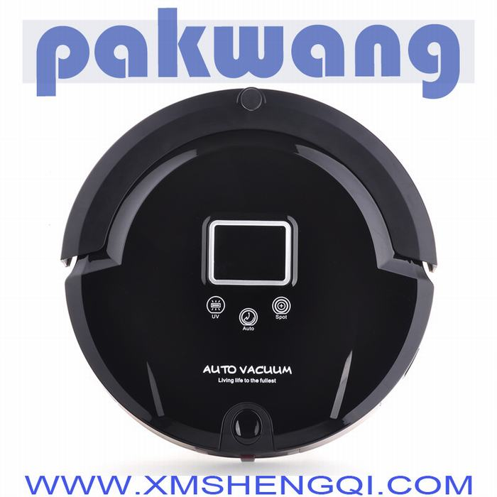 Klinsmann Brand Mini Robot Vacuum Cleaner Intelligent Household Vacuum Cleaner Suck,Sweep,Mop ,have tiles cleaner(China (Mainland))