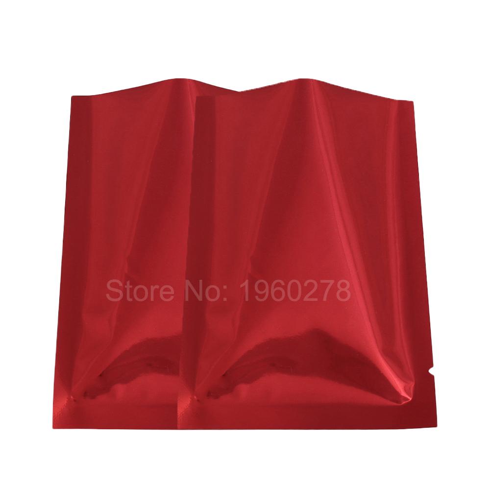 "High quality 7x10cm (2.7x3.9"") heat seal metallic mylar plastic bag reclosable foil packaging gift powder storage open top bag(China (Mainland))"