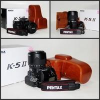 новый кожаный чехол мешок случае для pentax k-5 ii k5 ii k-5ii камеры