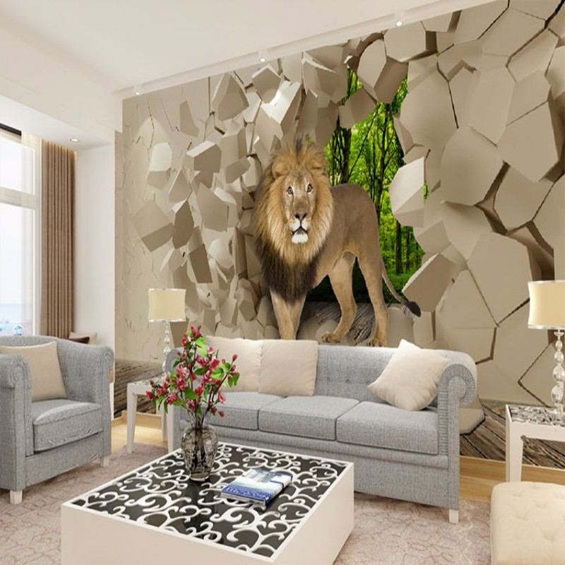 Popular stone walling buy cheap stone walling lots from for Decor papier peint mural