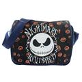 Polyester shoulder bag Jack Skellington of The Nightmare Before Christmas Type A Messenger Bag